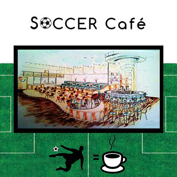 SOCCER CAFE' - Locale a tema